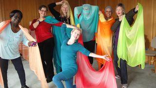 Cancerkin DYH ladies with veils 1