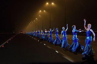 Multiple Ys on motorway